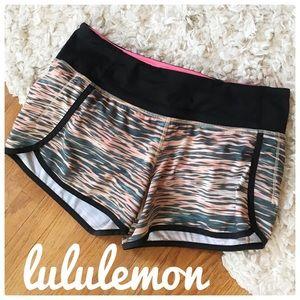{Lululemon} rare tiger water speed shorts